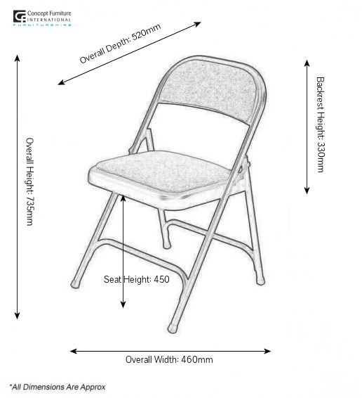 Top 30 metal folding chair size White Metal Folding  : folding chair from www.animal-coloring-pages.com size 516 x 566 jpeg 44kB