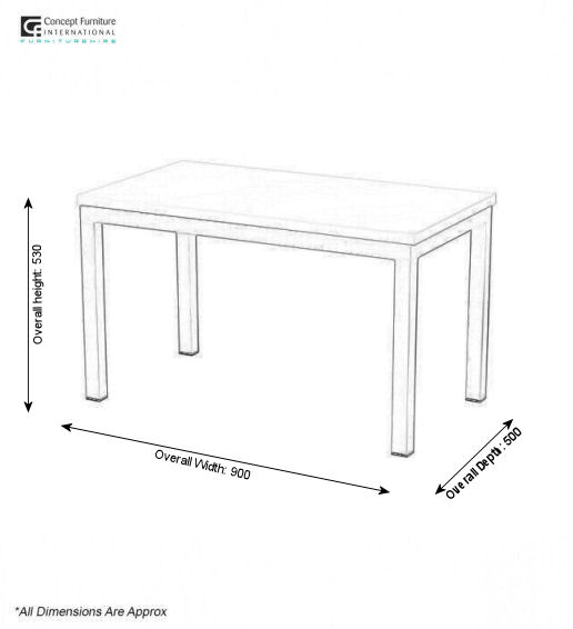 Concept Furniture Hire Coffee Table Hire