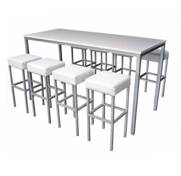 Concept furniture hire corrine high dining table hire for High dining table