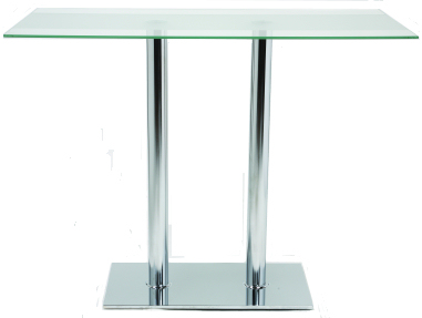 High Ice Glass Table Hire   Concept Furniture, Table Hire, Exhibition,  London