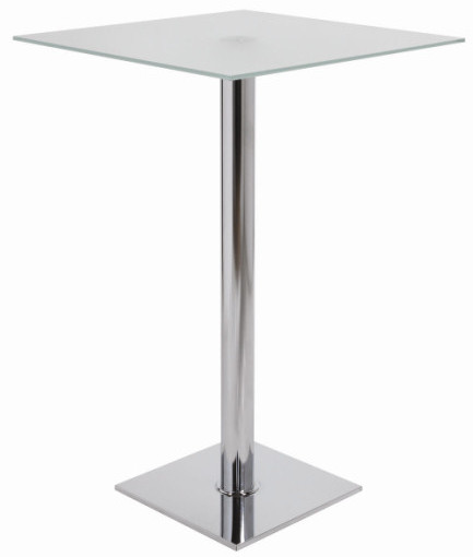 Attractive High Square Satin Table