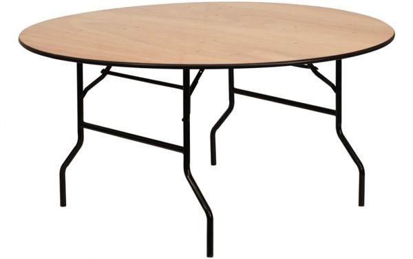 Round Trestle Table Hire For Event Round Trestle Table