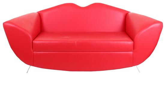 Red Leather Lips Sofa Hire   Concept Furniture, Sofa Hire, London, Event,  Exhibition