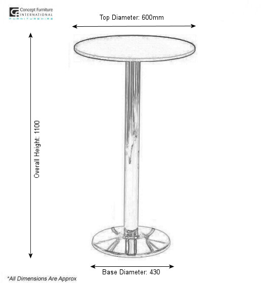 Surf High Table Hire Concept Furniture Table Hire