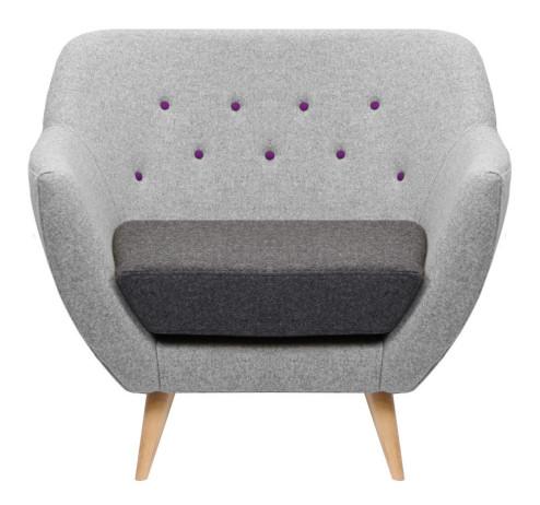 finn armchair hire designer sofa hire poet london event exhibition