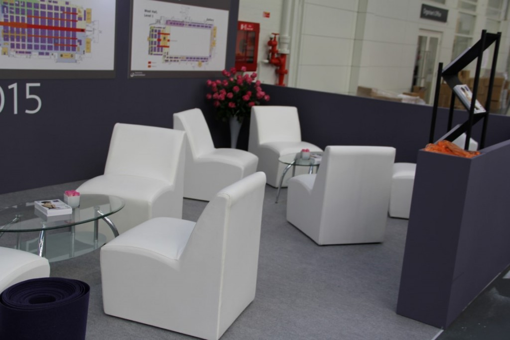 Hire Telford Chair (White Leather)