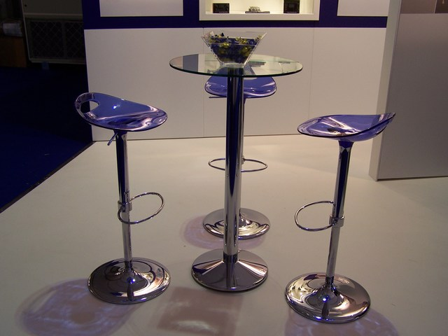 High Glass Table Hire