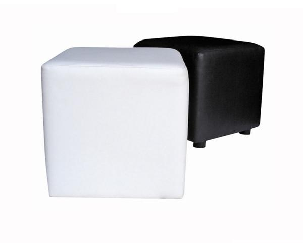 Leatherette Cube