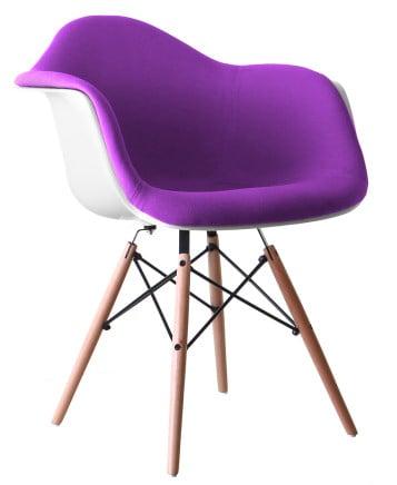Honey Chair Padded Wooden